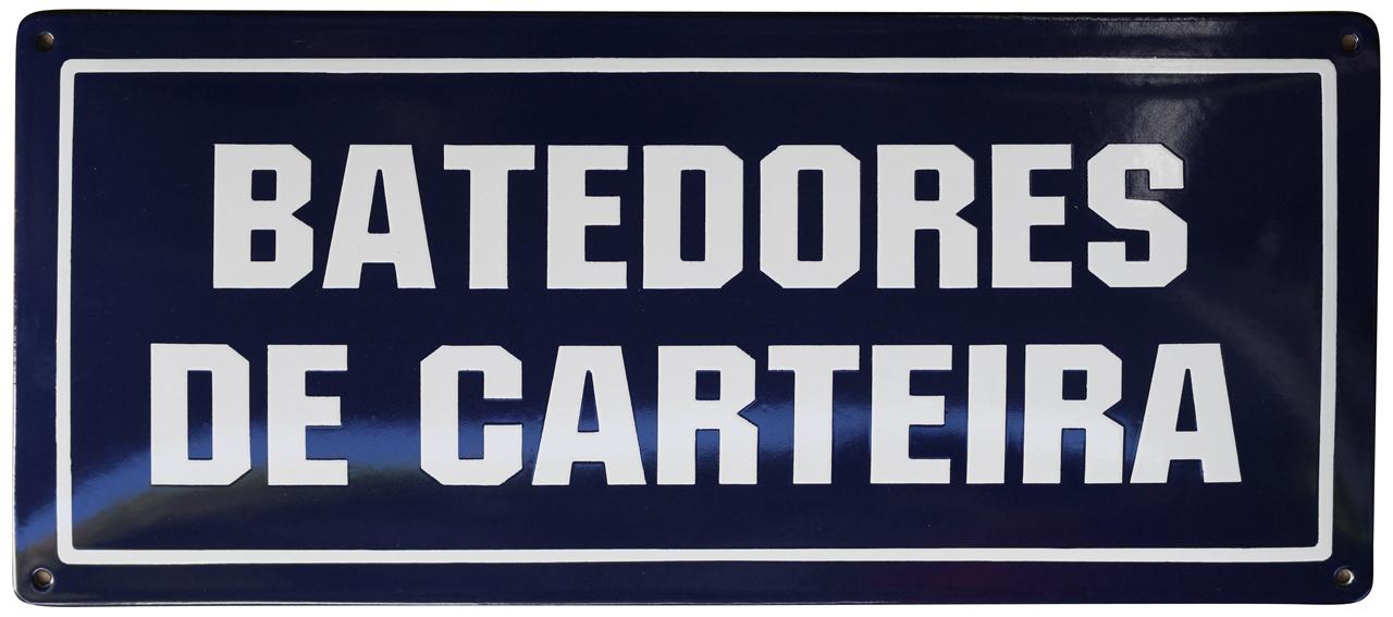 12 BATEDORES DE CARTEIRA