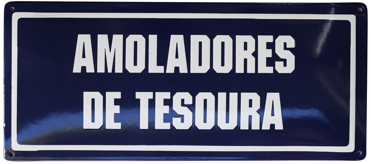 21 AMOLADORES DE TESOURA